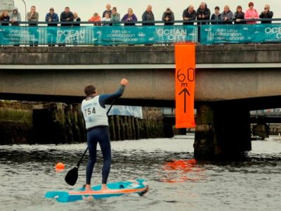 Introducing stand-up paddle boarding to Ocean to City Race!